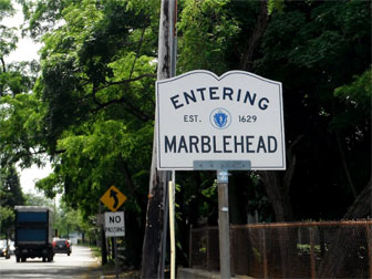 Entering Marblehead, MA